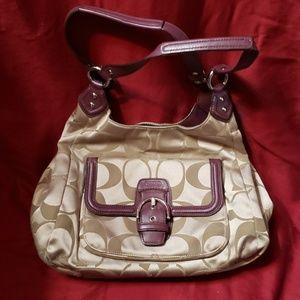 Womans coach purse
